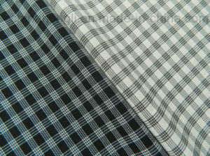 150d Poly Cationic Four-Way Spandex Check Fabric pictures & photos