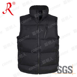 High Quality Winter Warmer Polyester Vest (QF-809) pictures & photos