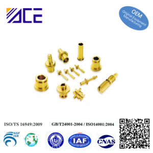 Brass Precision Machining Fittings Part pictures & photos