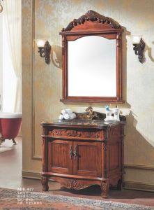 Eurprsn Style Bathroom Solid Woodbathroom Vanity (ADS-627) pictures & photos