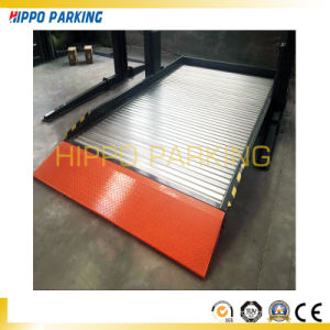 Electric Release Parking Lift/Two Poles Auto Parking Equipment pictures & photos