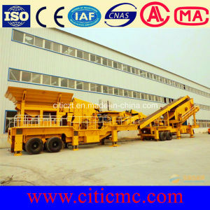 High-Quality Stone Flexible Mobile Impact Crusher pictures & photos