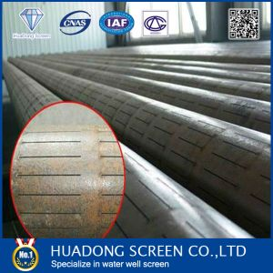 J55 Slotted Screen Casing Pipe with Btc Coupling Threads/Slot Liner Pipe pictures & photos