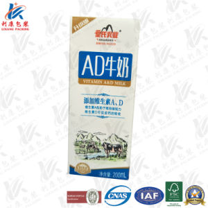 Laminated Paper Packaging for Milk and Juice pictures & photos