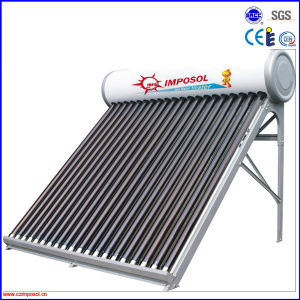 High Quality China Made Non Pressure Solar Water Heater pictures & photos