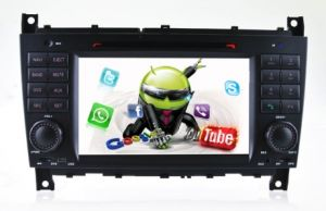Android 5.1 Phone Connection or WiFi Connection Car Tracker DVD GPS Navigation for Mercedes Benz C/Clk Radio Hualingan pictures & photos