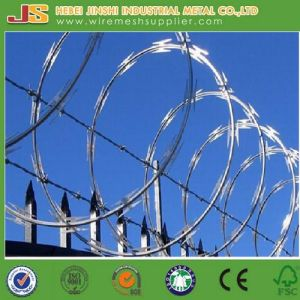 Galvanized Concertina Razor Barbed Wire From Factory pictures & photos