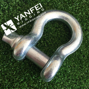 Electrical Galvanized European Type Large Bow Shackle pictures & photos