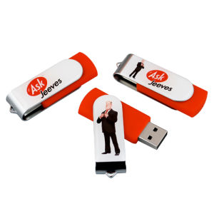 Epoxy Sticker Printed USB Drives Promotional Flash Drives pictures & photos
