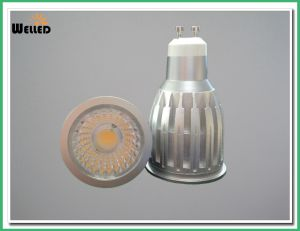 8W 10W High Power LED COB Spotlight 800lm CRI80 / Reflector LED Recessed Spot Lights with Cold Forging Aluminum for 50W Halogen Replacements pictures & photos