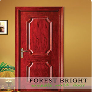 Classic Home Design Door, Raised Molding Mahogany Veneered Door pictures & photos