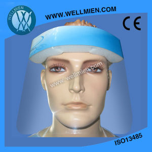 Disposable Wraparound Face Shield/Disposable Medical Anti-Fog Face Mask pictures & photos
