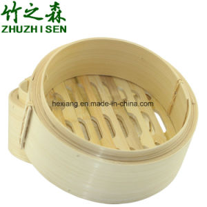 Natural Healthy Bamboo Steamers pictures & photos