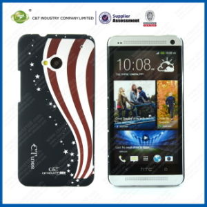 C&T Flag Pattern Hard Case for HTC One M7 pictures & photos