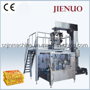 Jienuo Automatic Microwave Popcorn Food Pouch Packing Machine pictures & photos