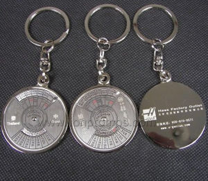 Zinc Alloy Calendar Metal Keychain pictures & photos