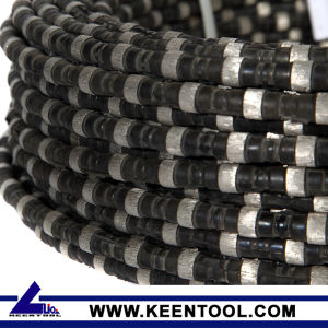 Diamond Wire Rope for Granite Quarrying pictures & photos