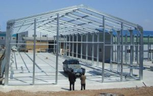 Quick Erectable Steel Structure Building Warehouse pictures & photos