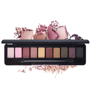 10 Colors Natural Eye Shadow Matte Mineral Eyeshadow Palette Set with Brush Es0312 pictures & photos