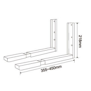 Microwave Oven Wall Bracket pictures & photos