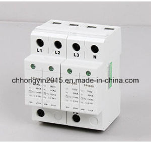 Class B 385V 60ka 2p Surge Arrester SPD pictures & photos