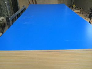 Factory-Groove Melamine MDF in 660X2440X15mm 18mm pictures & photos