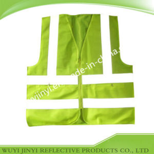 Fluo Green Reflective Work Safety Vests
