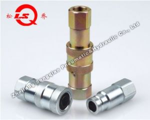 Lsq-PT Flat Face Type Hydraulic Quick Coupling (STEEL) pictures & photos