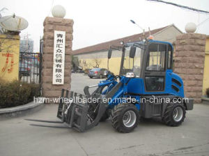Hzm Jn908 Small Mini Wheel Loader in Qingzhou City pictures & photos