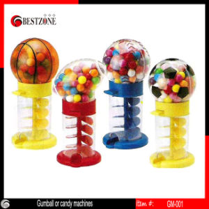 Mini Plastic Gumball/Candy Machine pictures & photos