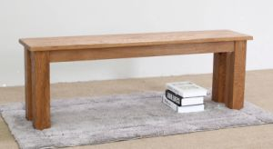 Solid Oak Wood Bench with Good Quality (M-X1073) pictures & photos