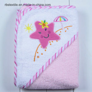 Wholesale Cotton Hooded Bath Towel for Baby/Kids pictures & photos