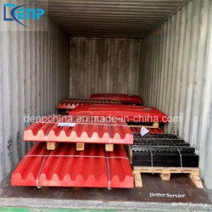 High Manganese Steel Jaw Crusher Spare Wear Parts pictures & photos