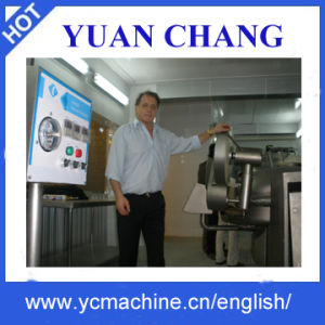 Vacuum Sausage Filler with Lift Zkg-3500/Sausage Production Line/Meat Processing Machines, Yuanchang pictures & photos