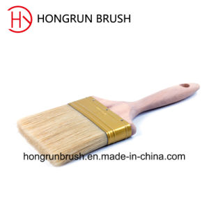 Wooden Handle Bristle Paint Brush (HYW017) pictures & photos