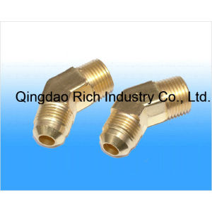 Rich Brass Elbow Fittings 45 Degree Elbow Fittings/Aluminium Forging/Steering Knuckle pictures & photos