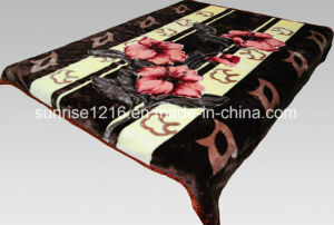 100% Polyester Soft Mink Blanket (Sr-B170228-5) pictures & photos