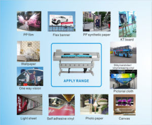 Audley CE Inkjet Printer Machine with Epson Dx5 Heads, 1.6m, 1.8m pictures & photos