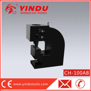 Hydraulic H Steel or U-Steel Punching Machine (CH-100AB) pictures & photos