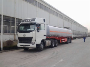 Famous Brand 3 Axles 40000 Liter Fuel Tank Semitrailer for Sale pictures & photos
