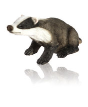 Resin Craft of Badger Statue for Garden Decoration