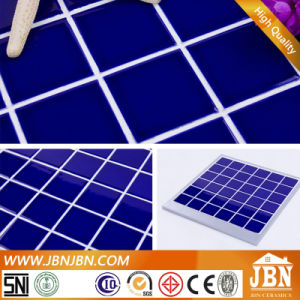 Mounting Swimming Pool Dark Blue Porcelain Mosaic (C648004) pictures & photos