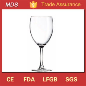 Hand Blown Tableware Red and White Wine Glass Transparent pictures & photos