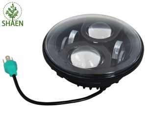 High/Low Beam CREE 40W 7 Inch LED Headlight for Jeep pictures & photos