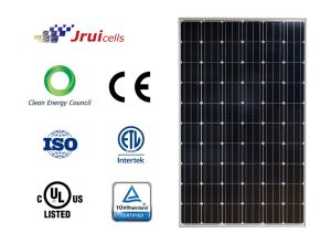 Pid Resistant Black Frame 270W Mono Solar Module for Rooftop PV Projects pictures & photos