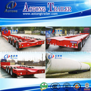 Hydraulic Axles Transport Extendable Semi Trailer pictures & photos