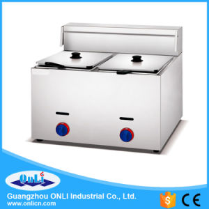 2-Tank Gas Fryer pictures & photos