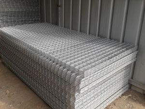 1000mmx2000mm Galvanized Welded Wire Mesh Sheet pictures & photos