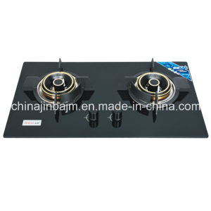 2 Burner Windproof Tempered Glass Built-in Hob pictures & photos