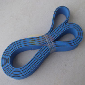 Rubber Flat Timing Belt with Elasticity pictures & photos